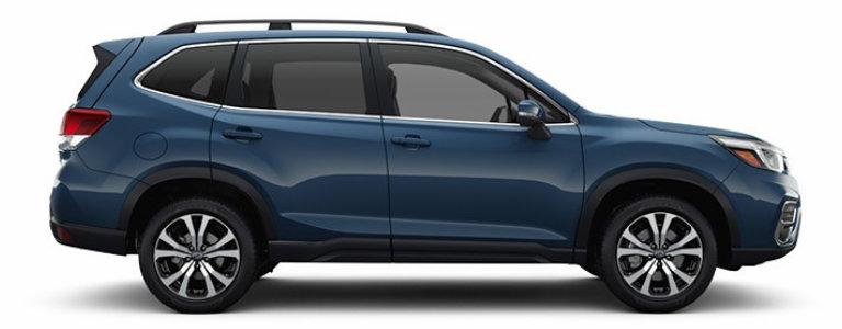 2019 Subaru Forester In Horizon Blue Pearledit O Go Hansel