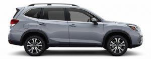2019 Subaru Forester in Ice Silver Metallic