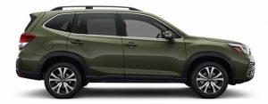 2019 Subaru Forester in Jasper Green Metallic
