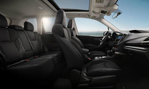 2019 Subaru Forester in Black Cloth