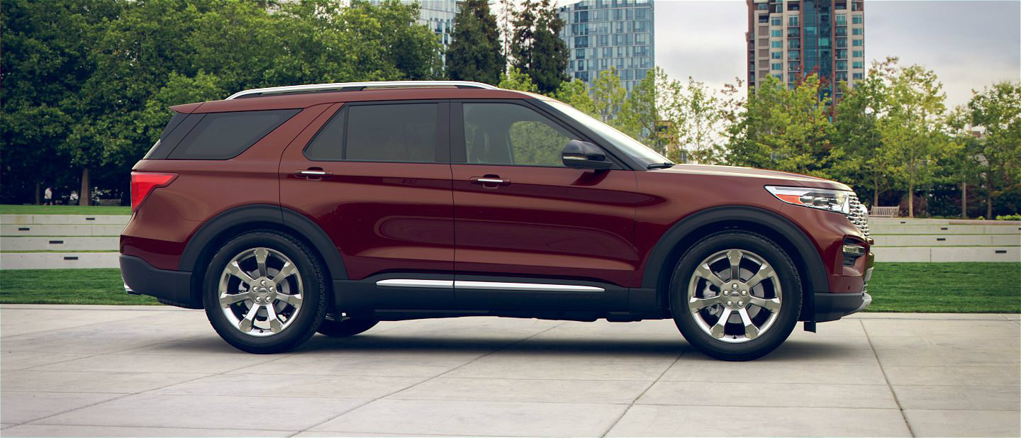 2020 Ford Explorer in Rich Copper