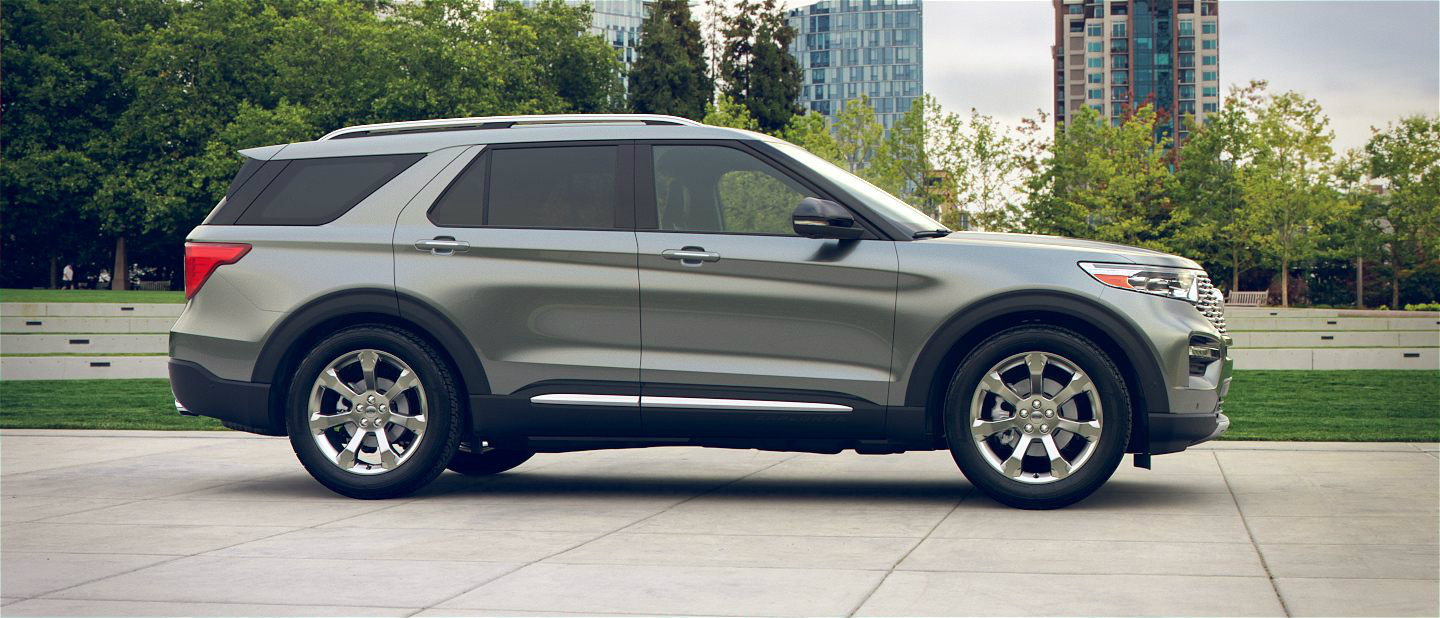 2020 Ford Explorer in Silver Spruce