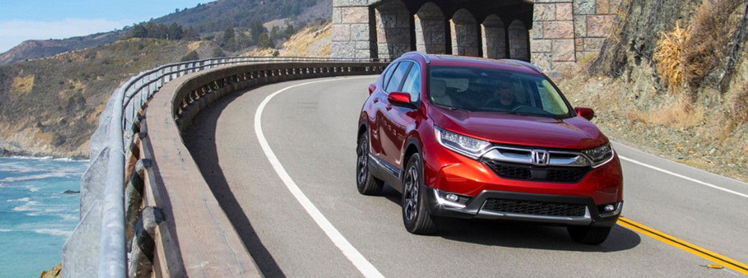 2018 Honda CR-V driving on the highway