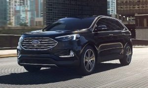 2020 Ford Edge in Agate Black