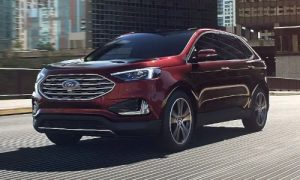 2020 Ford Edge in Burgundy Velvet
