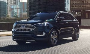 2020 Ford Edge in Dark Persian Green