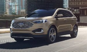 2020 Ford Edge in Desert Gold