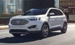 2020 Ford Edge in Star White