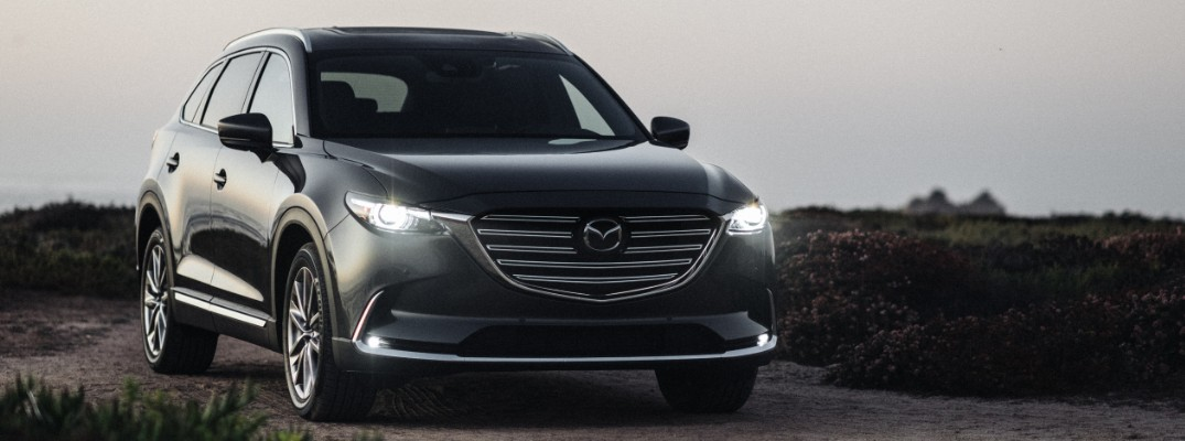 2020 Mazda CX-9 parked at sunset