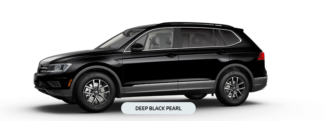 2020 Vw Tiguan Deep Black Pearl O Go Hansel