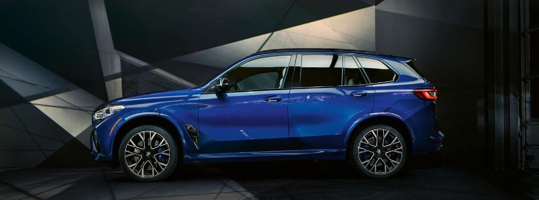 2020 BMW X5 M in the spotlight