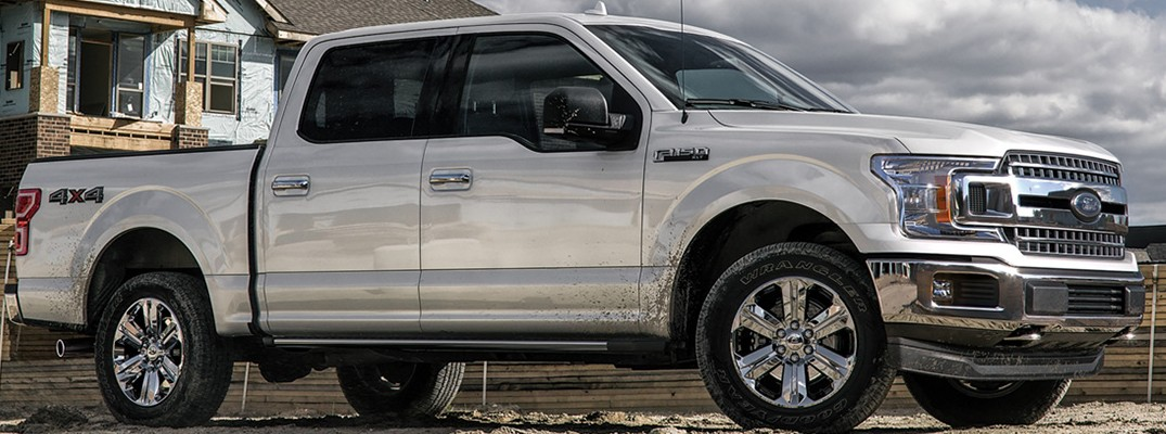2020 Ford F-150 parked in the sun