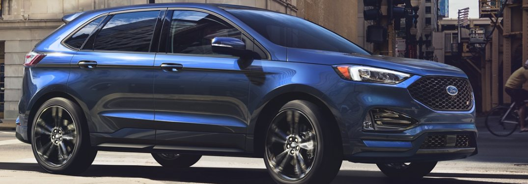 2020 Ford Edge from the side