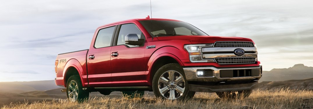 2020 Ford F-150 driving off-road