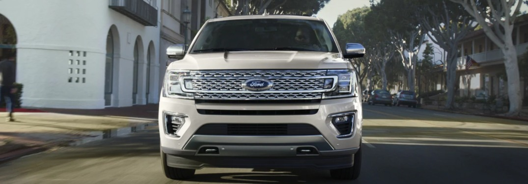 2020 Ford Expedition from the front