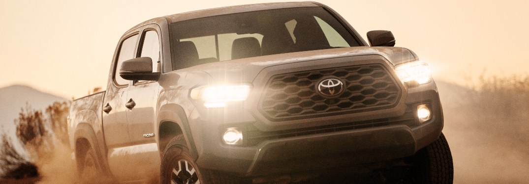 2021 Toyota Tacoma driving off-road