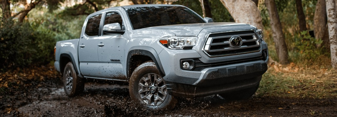 2021 Tacoma driving in mud