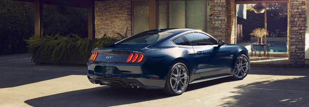 2021 Ford Mustang from exterior rear