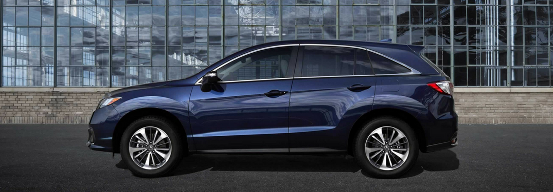 2018 Acura RDX in blue