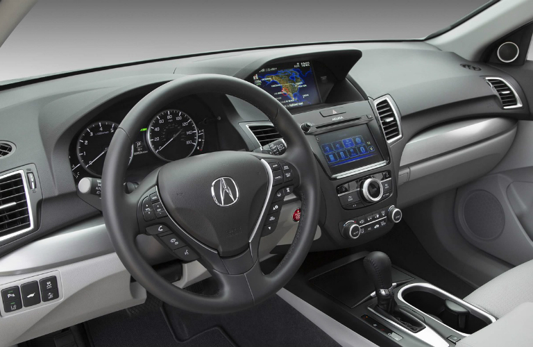 2018 Acura RDX front interior