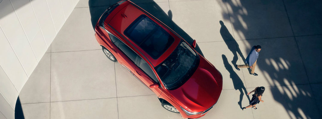Performance-Red-Pearl-2019-Acura-RDX-view-from-above