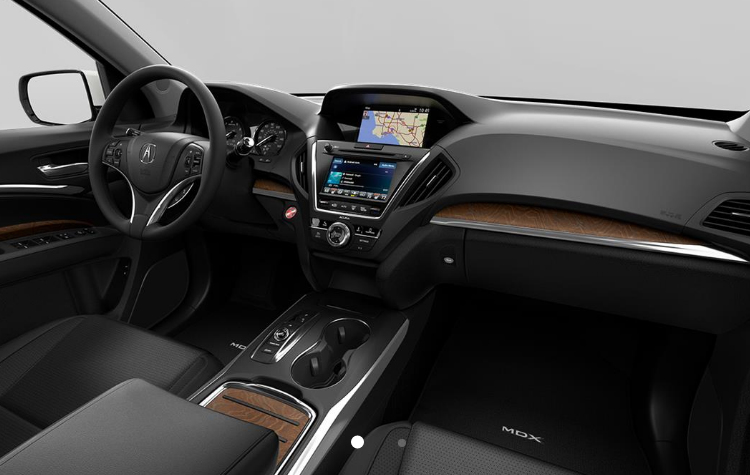 Bill Gatton Acura >> 2019-Acura-MDX-interior-in-Ebony_o - Bill Gatton Acura