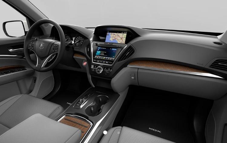 2019-Acura-MDX-interior-in-Graystone_o - Bill Gatton Acura