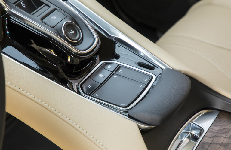 2019 Acura RDX driver controls and touchpad