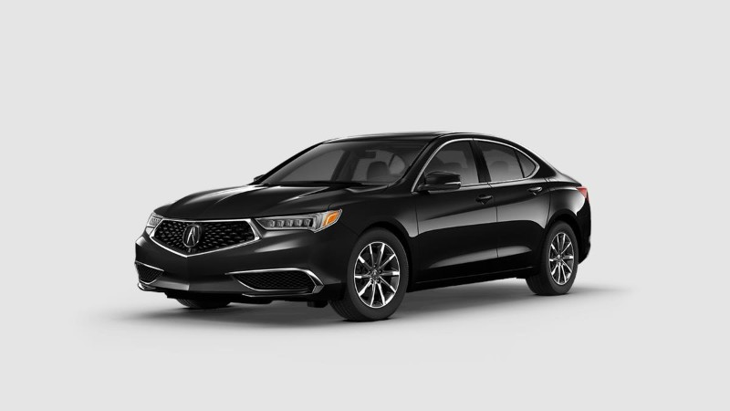 2019 Acura TLX in Crystal Black Pearl