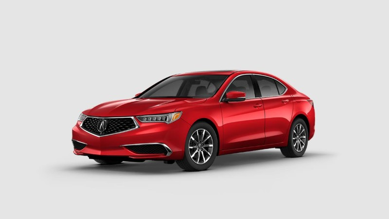 2019 Acura TLX in San Marino Red