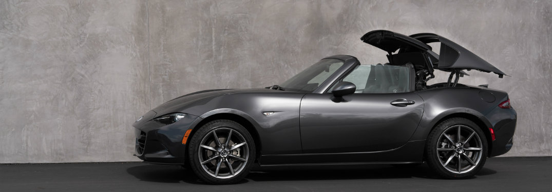 what s new on the 2018 mazda mx 5 rf explore features here. Black Bedroom Furniture Sets. Home Design Ideas