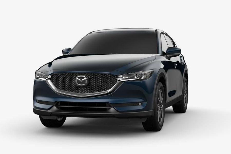 2018 Mazda CX-5 Exterior Front Fascia Deep Crystal Blue