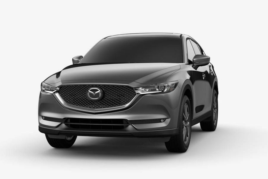 2018 Mazda CX-5 Exterior Front Fascia Machine Gray Metallic