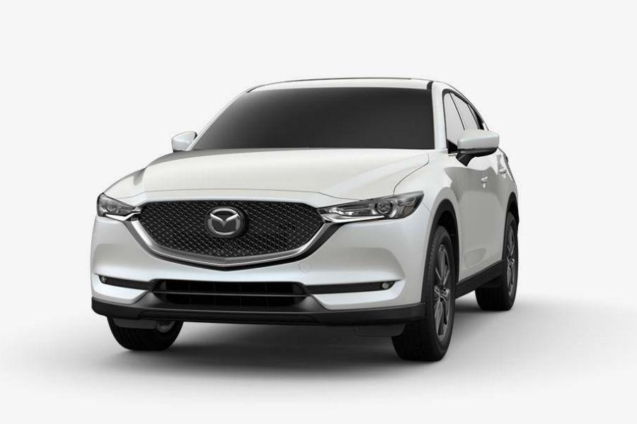 2018 Mazda CX-5 Exterior Front Fascia Snowflake White