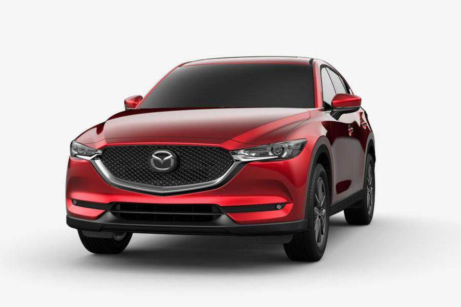 2018 Mazda CX-5 Exterior Front Fascia Soul Red