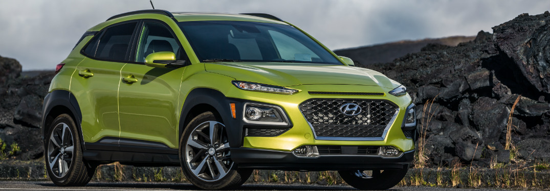 Hyundai Showcases the new 2018 KONA