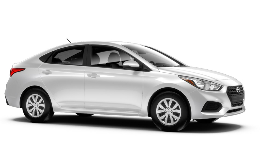 2018 Hyundai Accent in Frost White Pearl