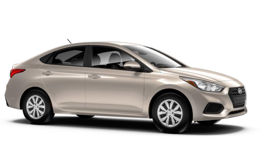 2018 Hyundai Accent in Linen Beige
