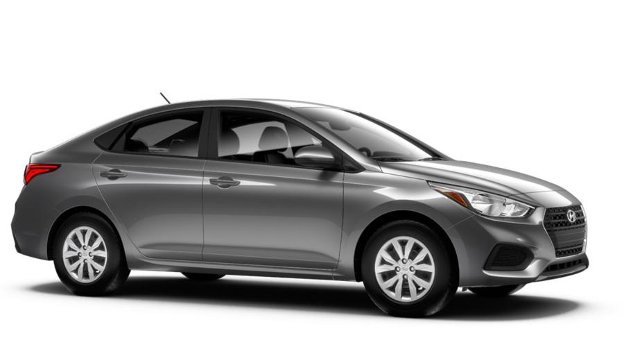 2018 Hyundai Accent in Urban Gray