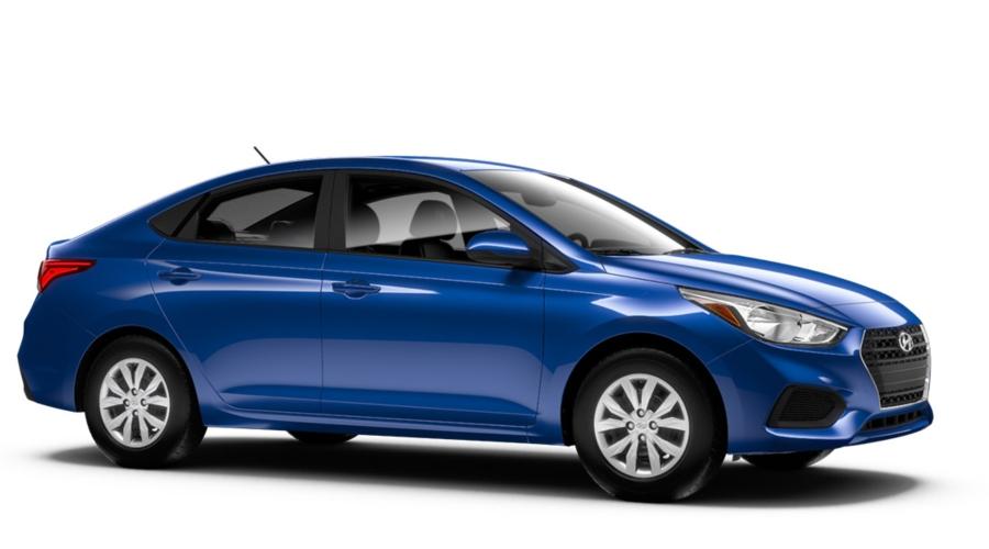 2018 Hyundai Accent in Admiral Blue