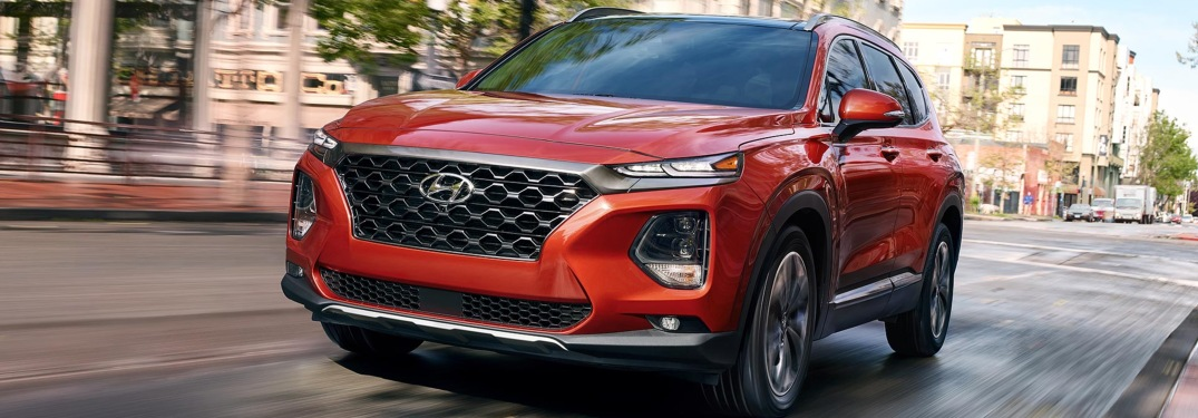Color Options for the 2019 Hyundai Santa Fe