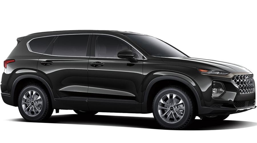 2019 Hyundai Santa Fe in Twilight Black