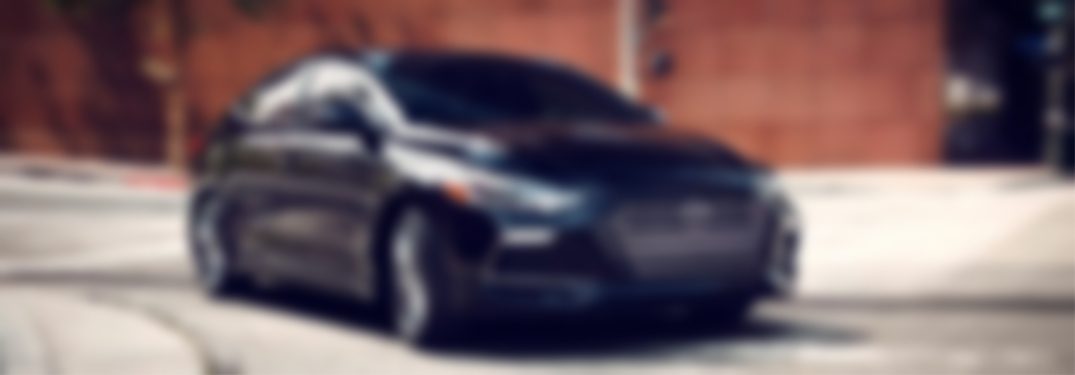 Blurred image of a 2018 Hyundai Elantra
