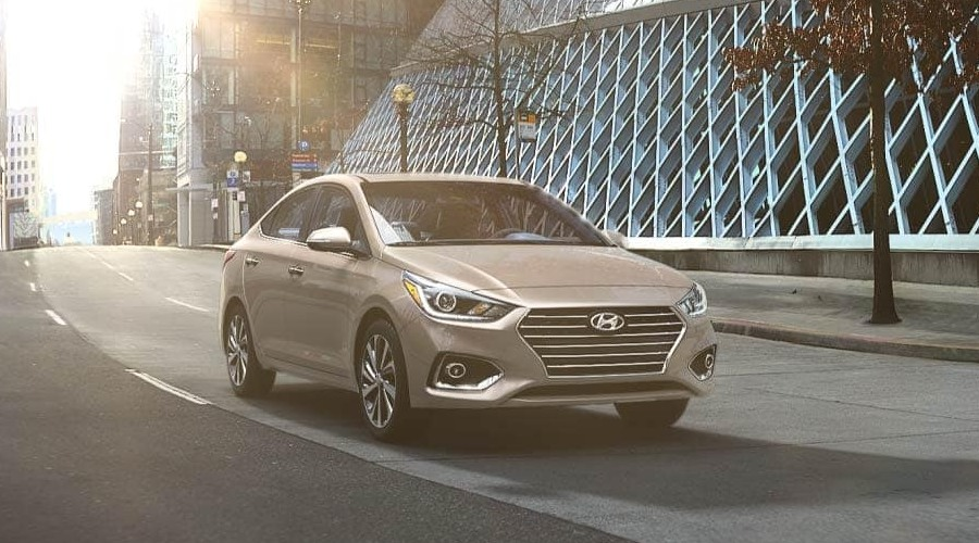 2019 Hyundai Accent in Linen Beige
