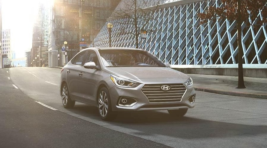 2019 Hyundai Accent in Urban Gray