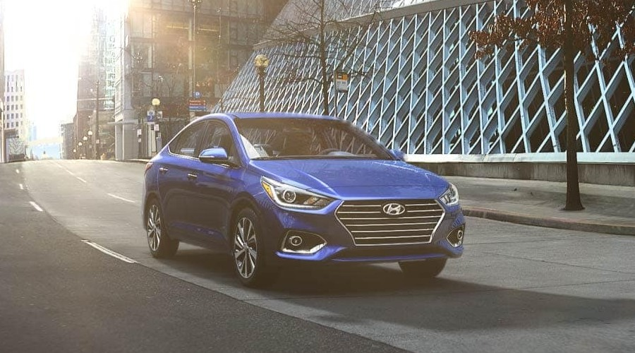 2019 Hyundai Accent in Admiral Blue
