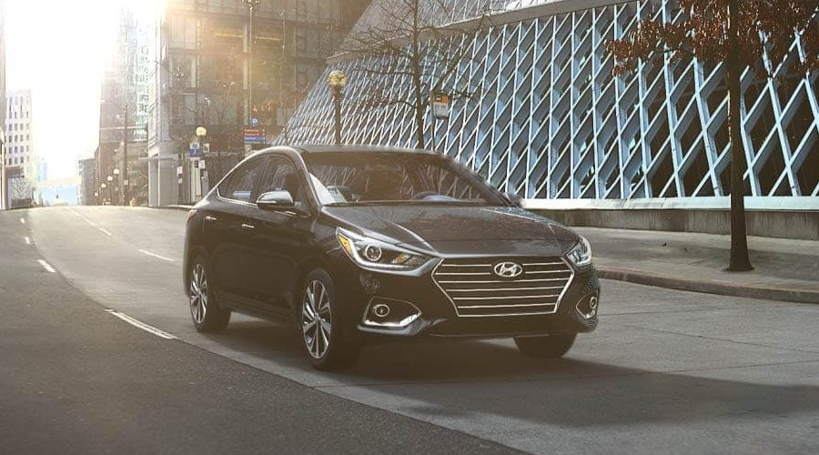 2019 Hyundai Accent in Absolute Black