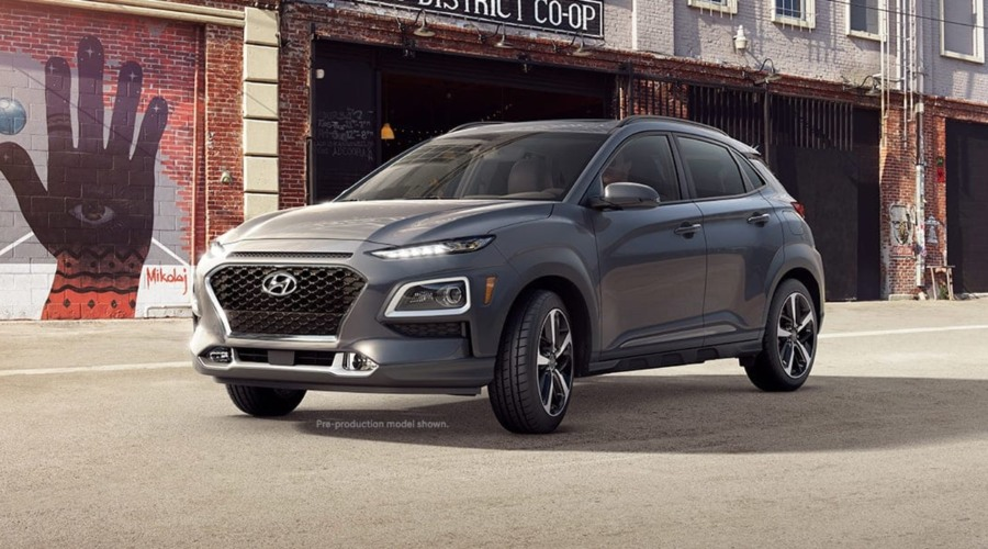 2019 Hyundai Kona in Thunder Gray