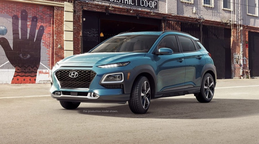 2019 Hyundai Kona in Surf Blue