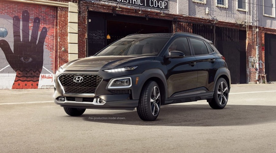 2019 Hyundai Kona in Ultra Black